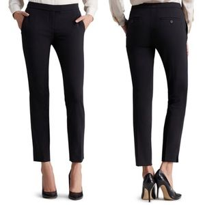 THEORY Ibbey Admiral Crepe Straight Pant Black